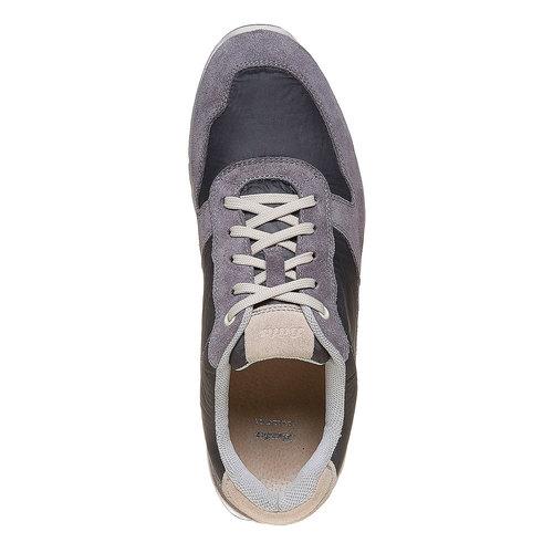 Sneakers grigie da uomo bata, grigio, 849-2692 - 19