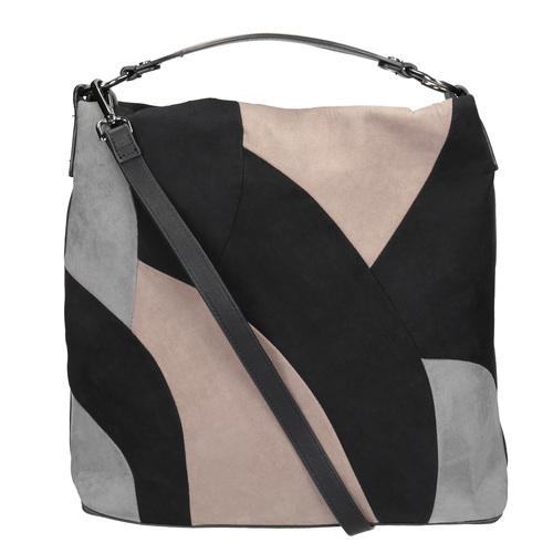 Borsetta in stile Hobo Bag bata, nero, 969-6231 - 19