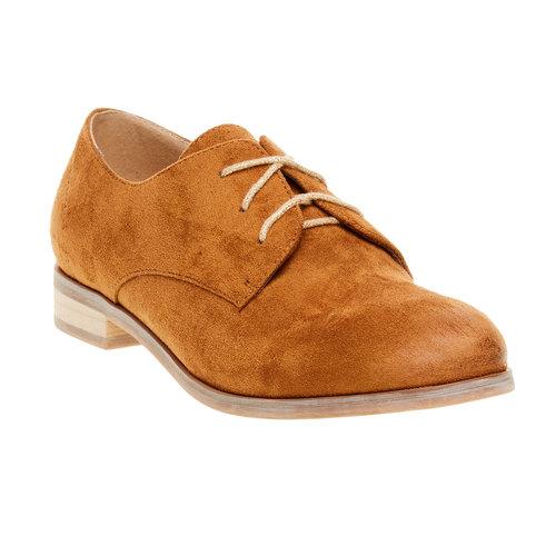 Scarpe basse da donna in stile Derby bata, marrone, 529-3492 - 13