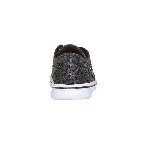 Sneakers argentate da ragazza mini-b, grigio, 329-6214 - 17