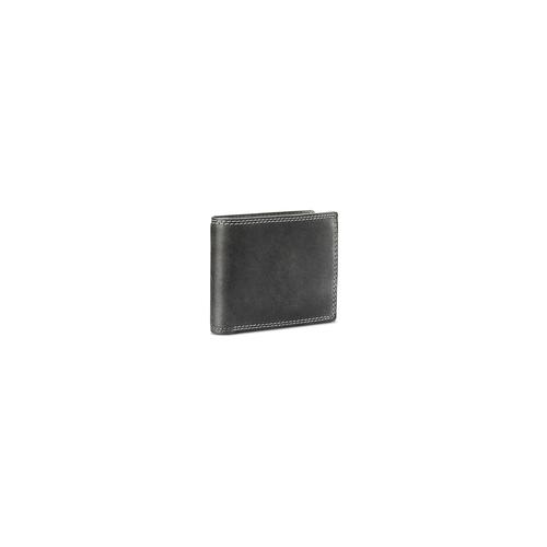 Portafoglio in pelle da uomo bata, grigio, 944-2129 - 13