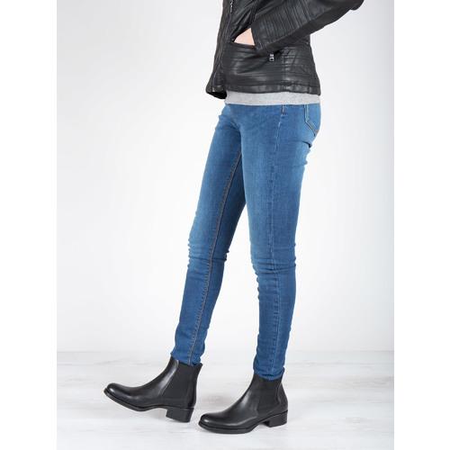 Scarpe di pelle in stile Chelsea bata, nero, 594-6448 - 18