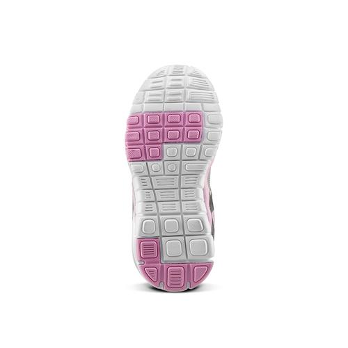 Sneakers da ragazza con chiusure a velcro mini-b, grigio, 229-2175 - 17