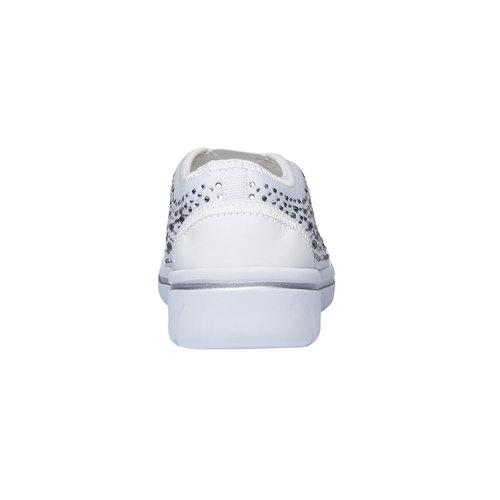 Slip-on da donna north-star, bianco, 539-1109 - 17