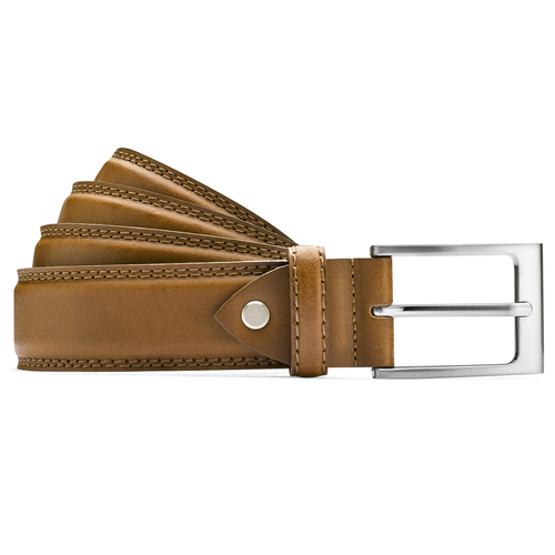 Cintura classica in pelle bata, marrone, 954-3828 - 13