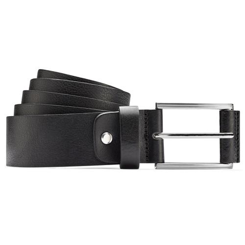 Cintura nera in pelle bata, nero, 954-6833 - 13