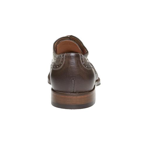 Oxford di pelle bata, marrone, 824-2594 - 17