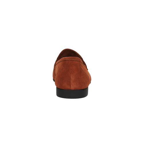 Mocassini da uomo in pelle flexible, rosso, 853-5186 - 17