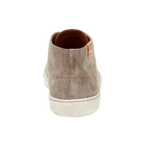 Scarpe da uomo in pelle weinbrenner, marrone, 843-2661 - 17