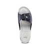 Slip-on da donna in pelle bata-comfit, blu, 574-9250 - 17
