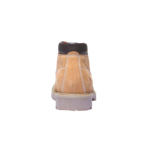 Scarpe in pelle con suola a carro armato weinbrenner, marrone, 596-8821 - 17