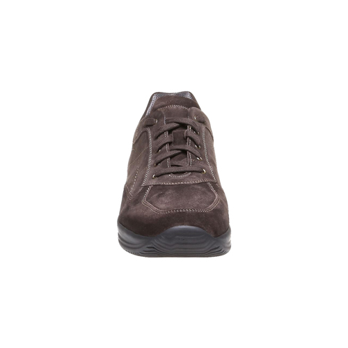 Sneakers di pelle bata, marrone, 843-4315 - 16