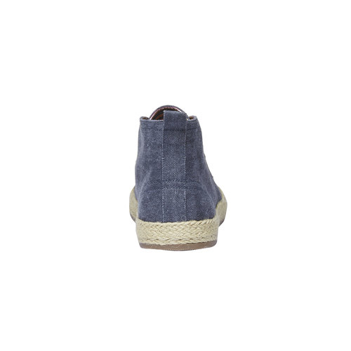 Scarpe da uomo in stile Desert Boots bata, blu, 899-9669 - 17