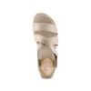Sandali in pelle bata, beige, 564-4351 - 17