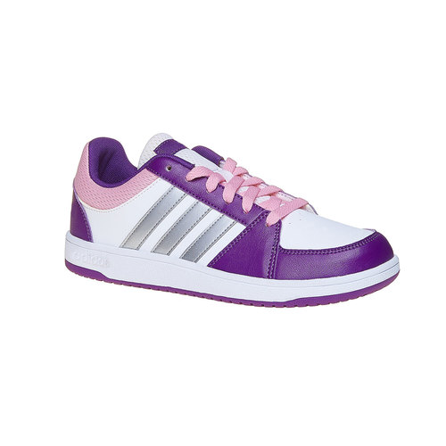 Sneakers eleganti da bambina adidas, bianco, viola, 401-1232 - 13