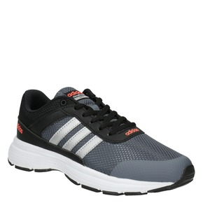Sneakers sportive da bambino adidas, nero, 409-6230 - 13
