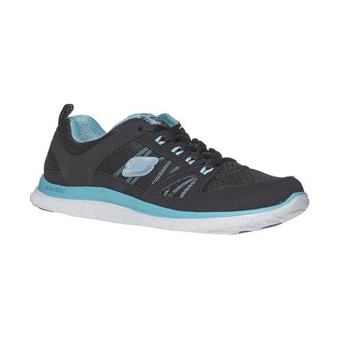 Sneakers sportive da donna skechers, nero, 509-6556 - 13
