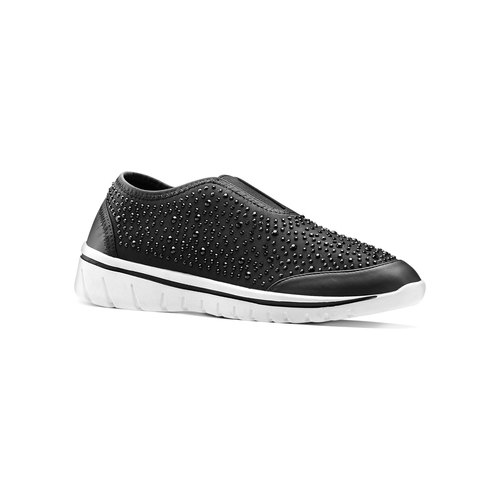 Slip on da donna north-star, nero, 539-6109 - 13