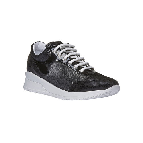 Sneakers con suola alta north-star, nero, 549-6232 - 13
