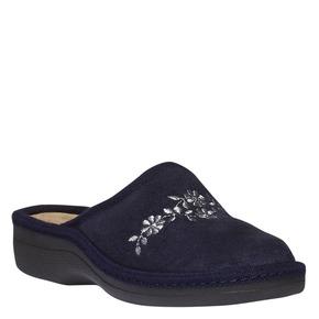 Pantofole da donna bata, viola, 579-9233 - 13