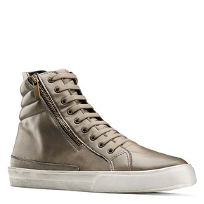 Sneakers stivaletto north-star, beige, 841-2503 - 13