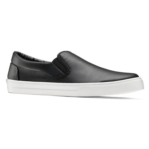Sneakers nere senza lacci north-star, nero, 831-6111 - 13