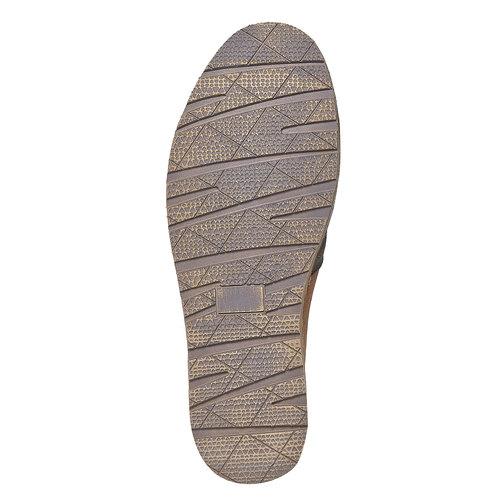 Slip-on da uomo in pelle bata, marrone, 854-4149 - 26