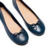 Ballerine da donna bata, blu, 524-9144 - 26