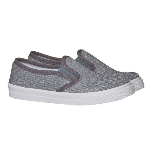 Scarpe Plim Soll argentate north-star-junior, bianco, 329-1172 - 26