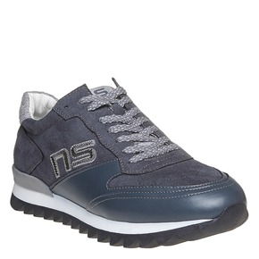 Sneakers da uomo con suola appariscente north-star, grigio, 849-2500 - 13
