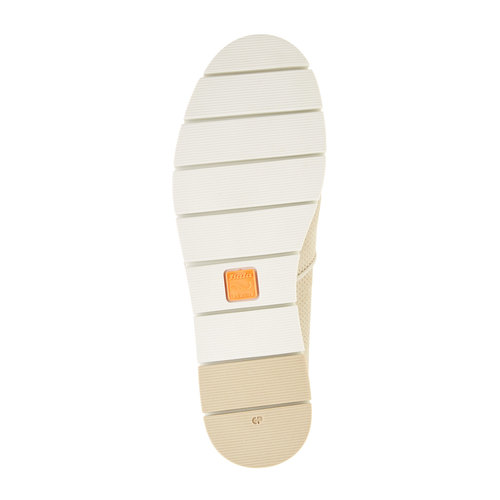 Slip-on di pelle con perforazioni flexible, giallo, 513-8200 - 26