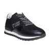 Sneakers da uomo con suola appariscente north-star, nero, 849-6500 - 13