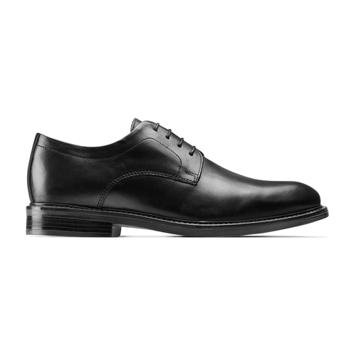 Brogue in pelle Comfort bata-comfit, nero, 824-6938 - 26