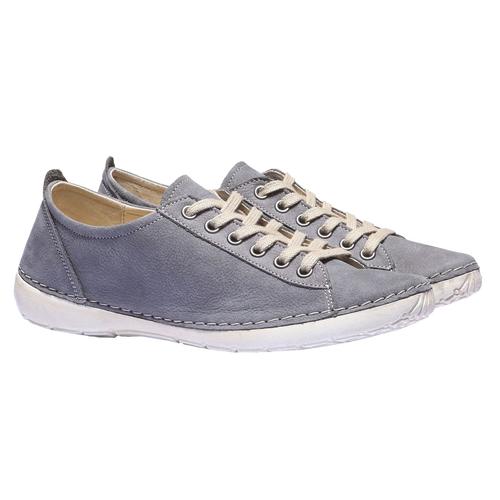 Sneakers comode di pelle weinbrenner, blu, 544-9151 - 26