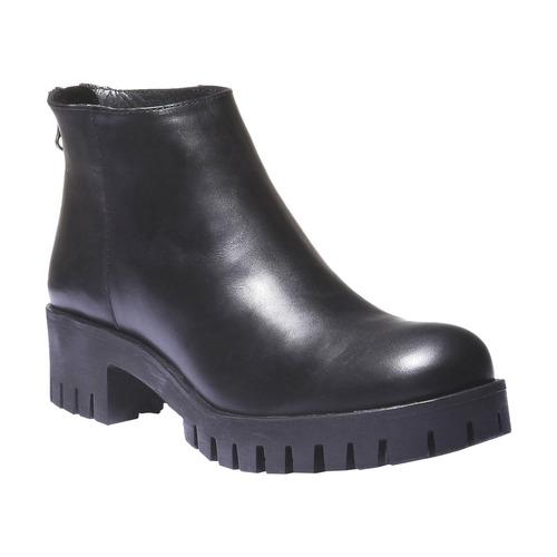 Scarpe alla caviglia con suola massiccia bata, nero, 694-6158 - 13