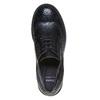 Scarpe basse da donna con tacco basso bata, nero, 521-6325 - 19