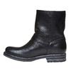 Stivaletti alla caviglia in pelle con fibbie bata, nero, 594-6102 - 19