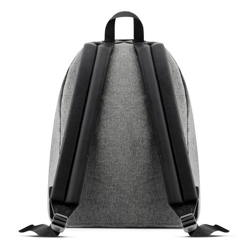 Zaino in tessuto di colore grigio eastpack, grigio, 999-6647 - 26