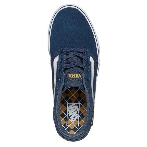 Sneakers informali da uomo vans, blu, 803-9303 - 19