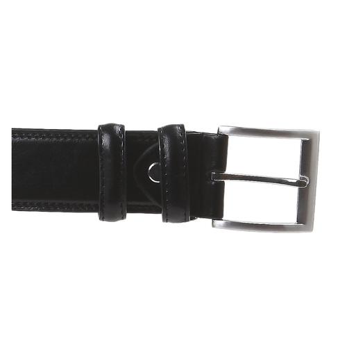 Cintura classica in pelle bata, nero, 954-6888 - 26