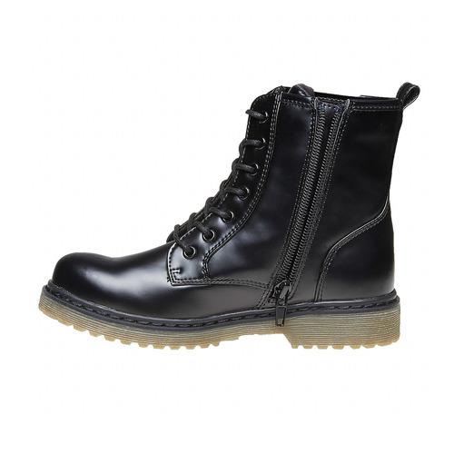 Scarpe alla caviglia con suola massiccia mini-b, nero, 391-6258 - 19