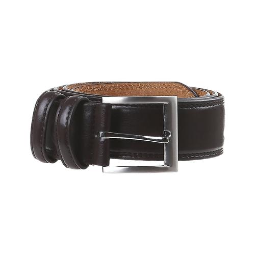 Cintura classica in pelle bata, marrone, 954-4888 - 13