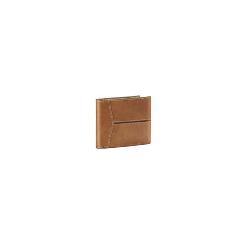Portafoglio in pelle bata, marrone, 944-3146 - 13