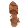 Sandali con tacco massiccio bata, marrone, 761-3500 - 19