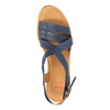 Sandali da donna in pelle flexible, viola, 764-9538 - 19