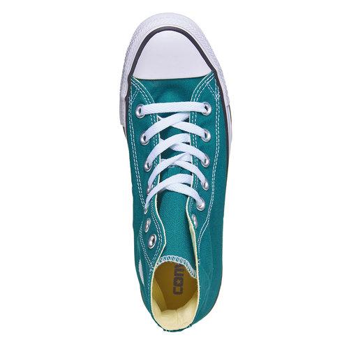 Sneakers da donna alla caviglia converse, verde, 589-9378 - 19