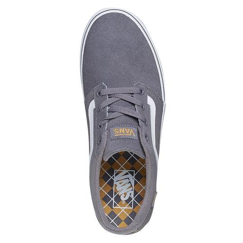 Sneakers da uomo in pelle vans, grigio, 803-2303 - 19