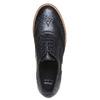 Scarpe basse da donna con plateau bata, nero, 524-6226 - 19