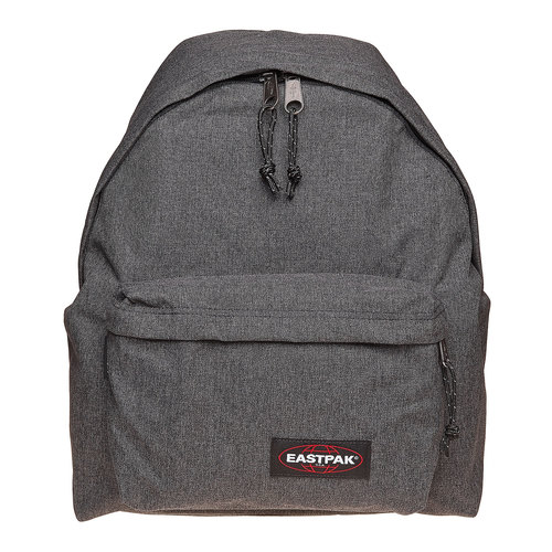 Zaino in tessuto di colore grigio eastpack, grigio, 999-6647 - 17