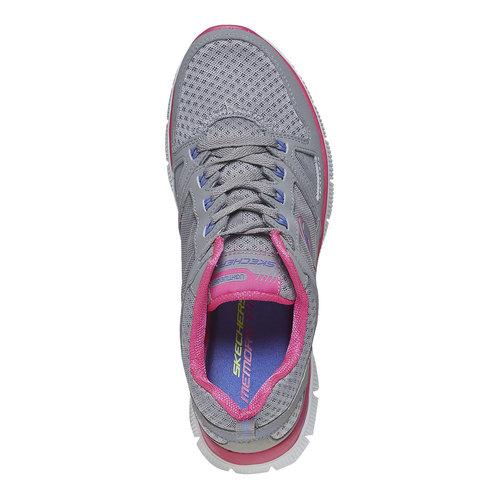 Sneakers sportive da donna skechers, grigio, 509-2456 - 19